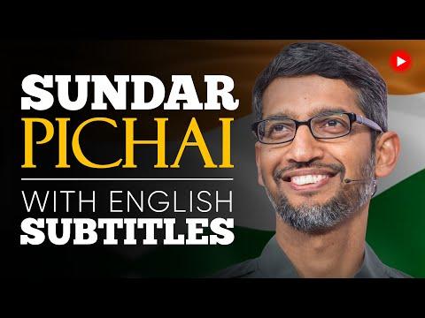 ENGLISH SPEECH | SUNDAR PICHAI: You Will Prevail (English Subtitles)