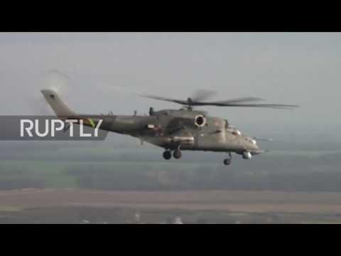 Russia's military Mi-28N, Mi-35M...