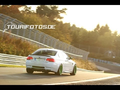 BMW M3 E92 - BTG 7:36 - Fastest Lap on the Nürburgring - The perfect drive