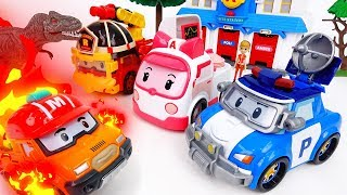 Video Brooms Town Is On Fire~! Gear Up Robocar Poli - ToyMart TV MP3, 3GP, MP4, WEBM, AVI, FLV Juli 2018