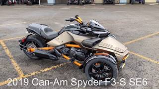 1. 2019 2019 Can-Am F3-S SE6 Special Edition Available now at Pro Caliber Vancouver.