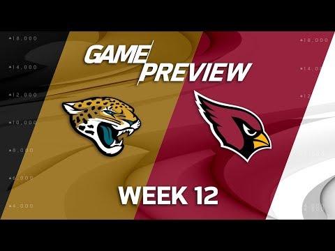 Video: Jacksonville Jaguars vs. Arizona Cardinals | NFL Week 12 Game Preview | NFL Playbook