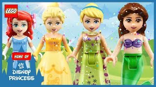 Video ♥ Wrong Heads Disney Princess Belle Cinderella Ariel Frozen Elsa Finger Family Song Nursery LEGO MP3, 3GP, MP4, WEBM, AVI, FLV Mei 2017