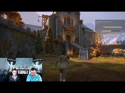 age - On October 20, 2014 Cameron Lee and Jason showed off Skyhold, the Inquisitor's customizable fortress in Dragon Age: Inquisition. The bit of gameplay being shown is from the Xbox One version...