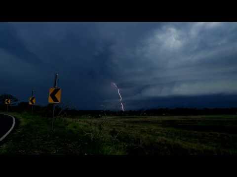THE BEAST OF BEAUDESERT - Supercell Thunderstorm 03/12/16