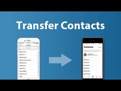 Transfer Contacts from iPhone 6 to iPhone X/8/8 Plus. Simple & Easy!