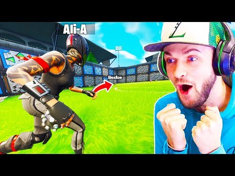 Ali-A CARRIES Lachlan In Fortnite | You Won't BELIEVE The ENDING