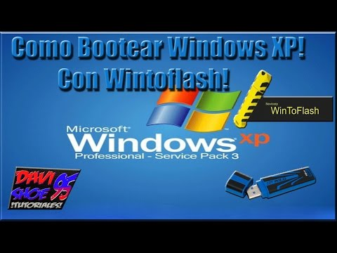 how to boot windows xp by usb
