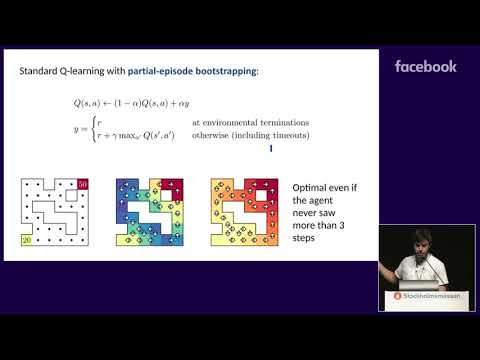 ICML 2018 talk by Fabio Pardo on Time Limits in Reinforcement Learning