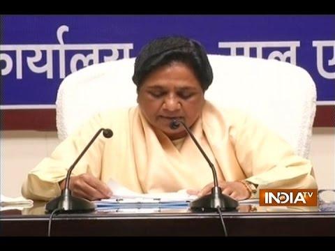BSP supremo Mayawati targets BJP over dalit atrocity issue