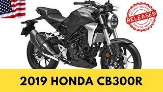 7. 2019 HONDA CB300R