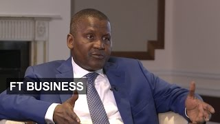 Dangote on investing in Africa