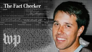 Beto O'Rourke denies trying to leave the scene of his DWI. What happened? | The Fact Checker