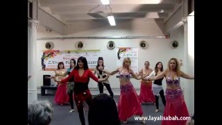Dallo spettacolo di Danza del Ventre a ZEN-A Fiera Benessere Genova!!!