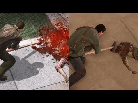 Dead Rising 1 vs Dead Rising 4 (видео)