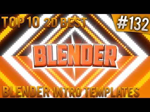 Video TOP 10 BEST Blender 2D intro templates #132 (Free download) download in MP3, 3GP, MP4, WEBM, AVI, FLV January 2017