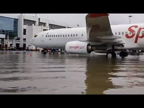 Airport Gets Flooded