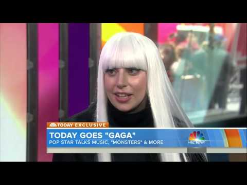 First look at G.U.Y. video & Gaga talks music, MONSTERS & More on Today Show