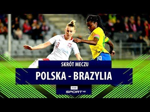 Mecz towarzyski kobiet, Polska – Brazylia [skrót meczu]