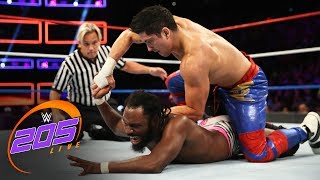 Nonton Rich Swann vs. TJP: WWE 205 Live, July 4, 2017 Film Subtitle Indonesia Streaming Movie Download
