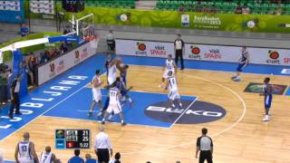 Play of the Game E. Boateng&K. Johnson Israel-Great Britain EuroBasket 2013