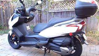 2. Kymco Downtown 300i Scooter Reviewed By Lady Owner