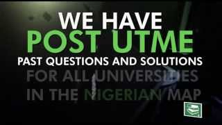 Do you need  Post UTME Past Questions and Answers for any universities, polytechnic, college of education in Nigeria, We are here to help, kindly check myeduNigeria store for any school of your choice.Order Link : https://myedu.ng/post-utme-past-questions/
