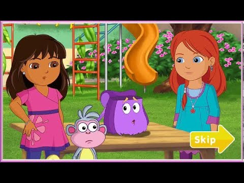 DORA AND FRIENDS RAINFOREST RESCUE - DORA AND FRIENDS INTO THE CITY GAME IN ENGLISH HD - EPISODE 1
