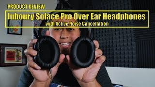 Video Juboury Solace Pro Over Ear Headphones with Active Noise Cancellation MP3, 3GP, MP4, WEBM, AVI, FLV Juli 2018