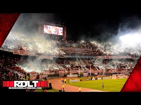 River 1 - Ind. del Valle 0 (Copa Libertadores 2016) - Los Borrachos del Tablón - River Plate - Argentina - América del Sur