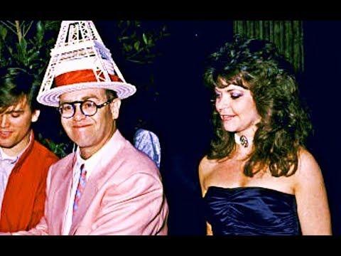 Elton John and his wife Renate Blauel