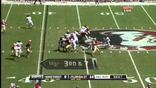 Bjoern Werner vs Wake Forest (2012)