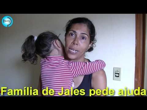 Jales - Conheçam a história de Clayton, Sônia (esposa) e Miriãn de 4 anos que passa por dificuldades em Jales.