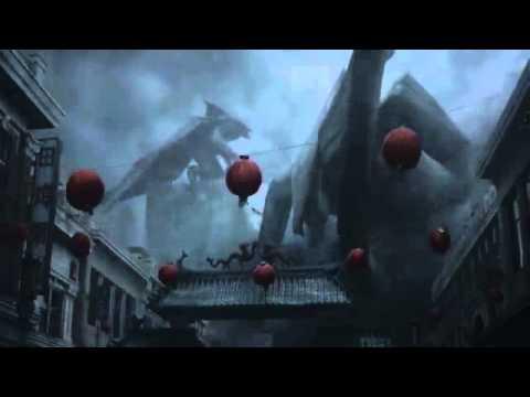 Godzilla 2014 all M.U.T.O scenes