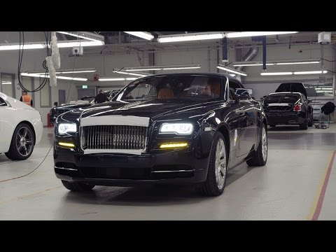 Rolls-Royce Cars Production