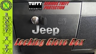 Patreon - https://www.patreon.com/rockyxtvFacebook - https://www.facebook.com/rockyxtv/This is a step by step install of the TUFFY Locking Glove Box for the Jeep JK. I also review this glove box at the end of the video, spoiler! I Hate It!!!Camera - Sony FDR-AX33 4K HandyCamCamera - Anart Action Cam 170 degreeMicrophone - Saramonic SR-WM4C Wireless Microphone SystemMixer - Saramonic SR-AX100 Audio MixerTripod - Ravelli AVTP Pro Video Tripod with Fluid Drag HeadLighting - LimoStudioEditing - Adobe Premiere Pro---Mailing Address---Rocky X TVP.O. Box 1437Grove City, OH 43123-1437