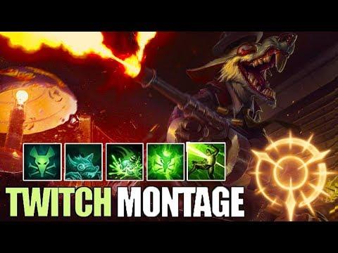 Twitch Montage 6 - Best Twitch Plays S8  League Of Legends Mid