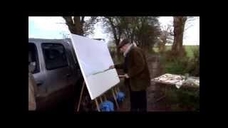 Download Lagu David Hockney - Painting 'November Tunnel' Mp3