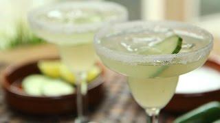 Margarita au concombre et au piment