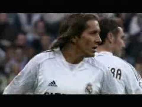 Owen marca para el Real Madrid
