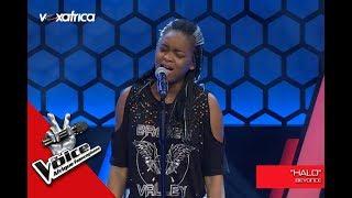 Video Noeline ' Halo ' de Beyoncé Audition à l'aveugle The Voice Afrique francophone 2017 MP3, 3GP, MP4, WEBM, AVI, FLV Januari 2019
