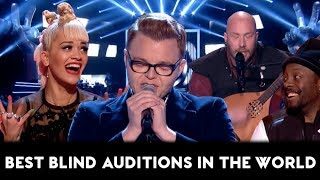 Video The Voice TOP-10 AMAZING & BEST Blind Auditions of All Times in the World (Part 2) MP3, 3GP, MP4, WEBM, AVI, FLV Januari 2019