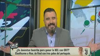 Analisis del JUVENTUS vs ATLETICO MADRID - Octavos Vuelta UCL 18/19 - CYE