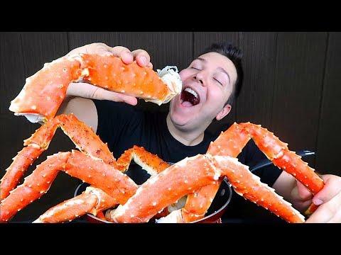 King Crab Legs • My First Time • MUKBANG - Thời lượng: 33 phút.