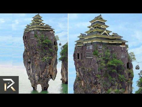 一般人永遠到不了的地方竟然有如此驚人的建築!?