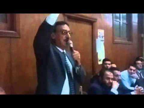 نقيب القليوبية: يلقي بيان بشأن واقعة التعدي علي محامين شبرا الخيمة