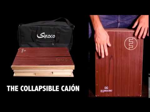 SIROCO PLUS collapsible cajon by DG