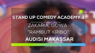 Video Stand Up Comedy Academy 3 : Zakaria, Gowa - Rambut Kribo MP3, 3GP, MP4, WEBM, AVI, FLV Februari 2018