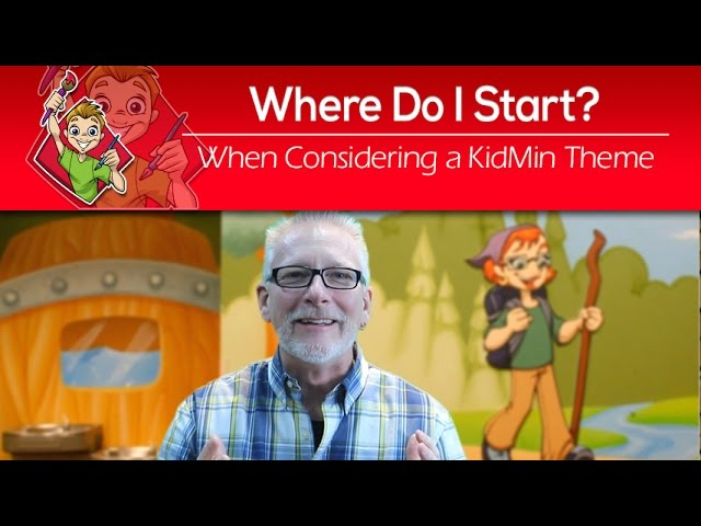 Where Do I Start When Considering A Children's Ministry Theme?