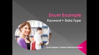 Enum Example : Derive Data Types in Java